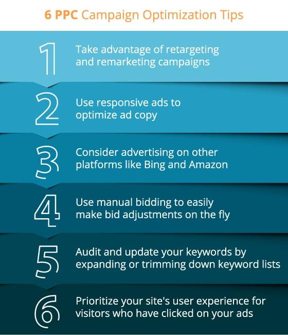 6 ppc campaign optimization tips