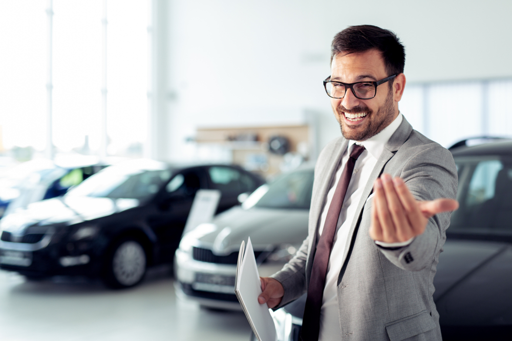 selling the benefits marketing car salesman