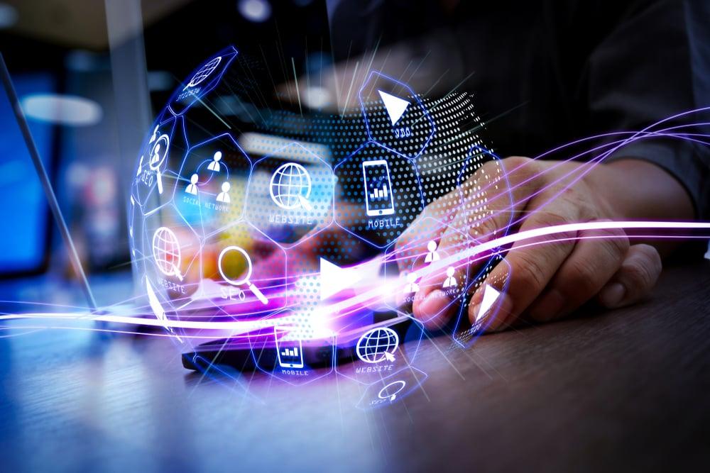 digital ecosystem of marketing assets