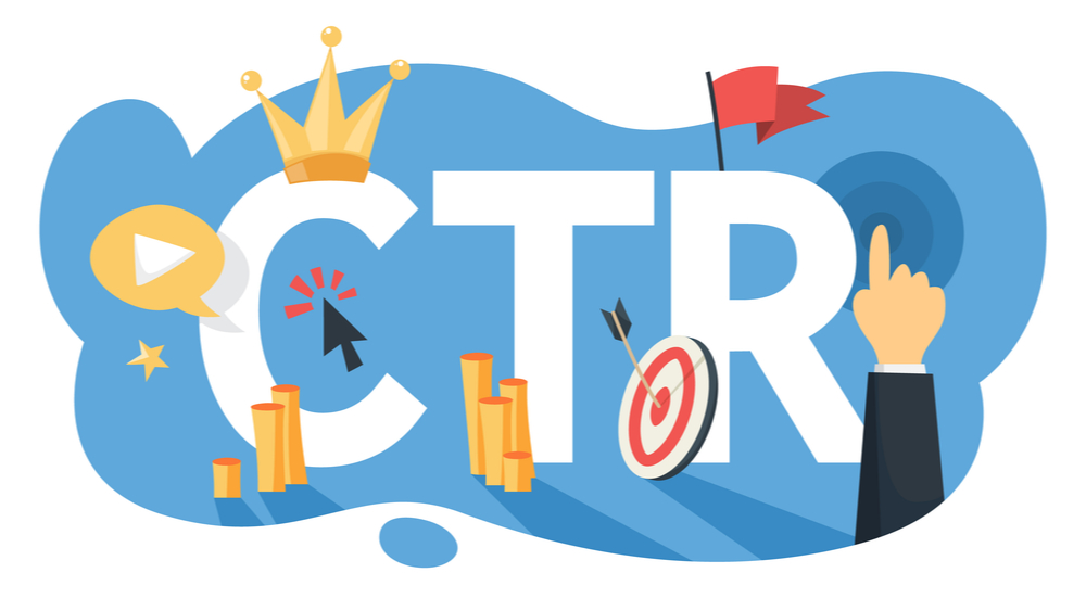 click through rate graphic