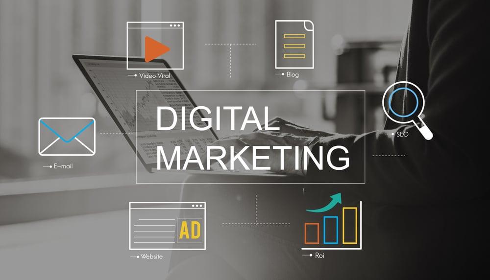 digital marketing resources graphic