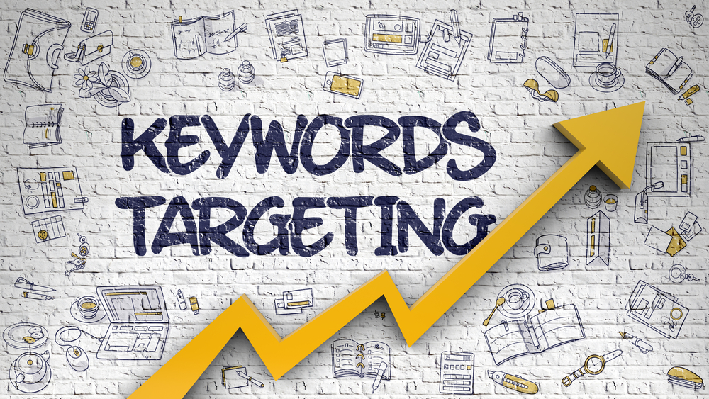 targeting keywords with blog posts